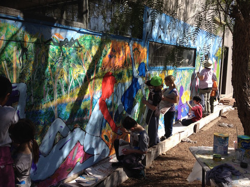 DOCSA Youth Camp - Mural – Artist In Res