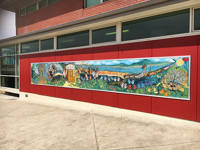 Mt Carmel College, Sandy Bay - Mural – A