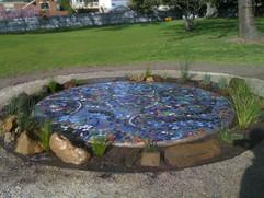 Mosaic Pond - Sacred Heart College, Geel