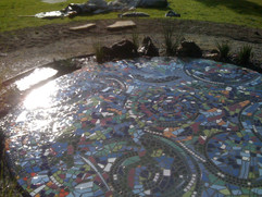 Mosaic Pond - Sacred Heart College, Geel