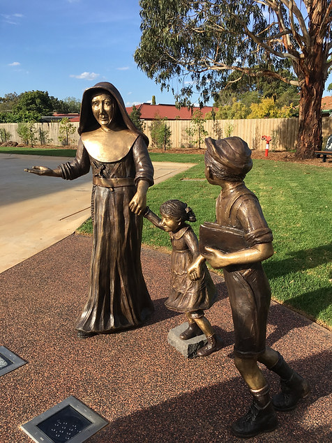 Mary MacKillop & Children - MacKIllop College, Werribee