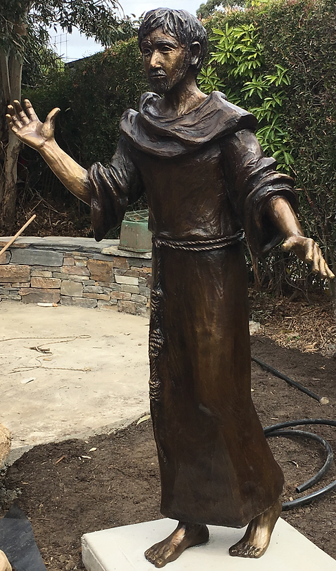St Francis Installation - Our Lady of the Nativity, Aberfeldie