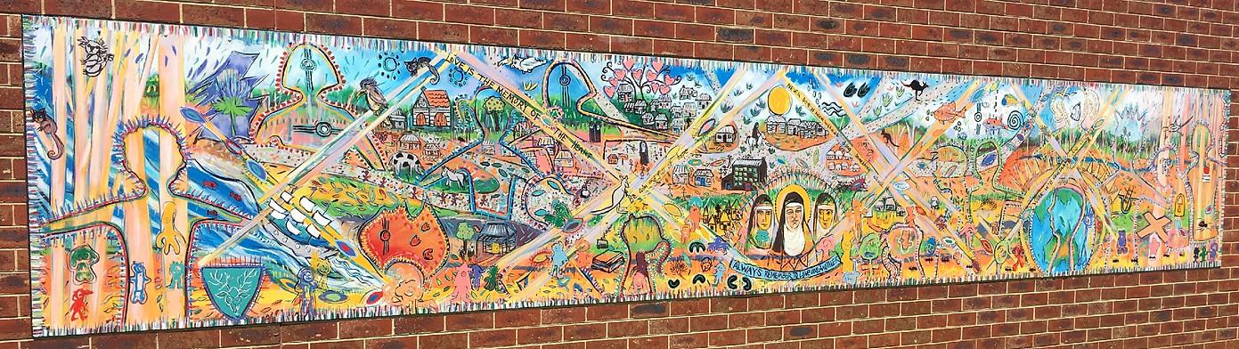 Mural – Artist In Residence - MacKillop