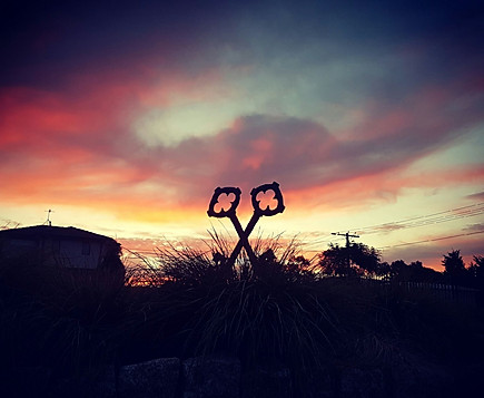 St Peters Cross Keys at Sunset