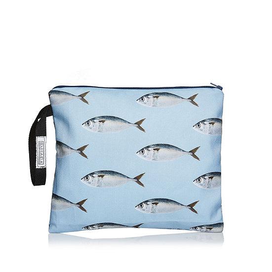 SquareW blue sardeles τσάντα