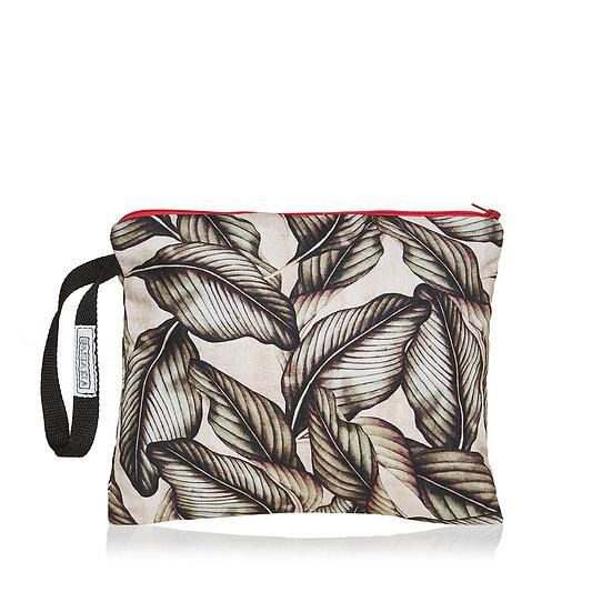 SquareW τσάντα με tropical leaves print
