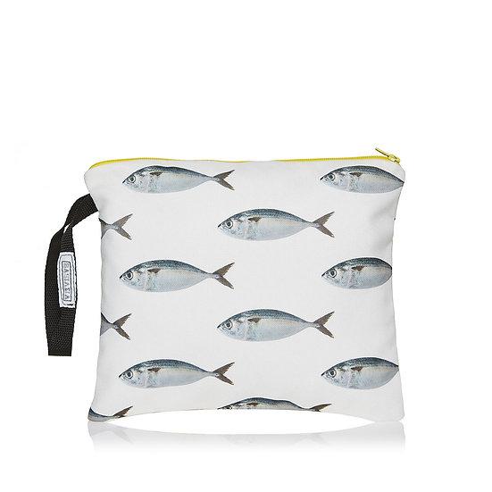 SquareW white sardeles τσάντα