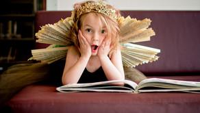 Nova's a book fairy!