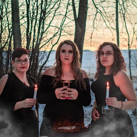 Triple Goddess for Halloween