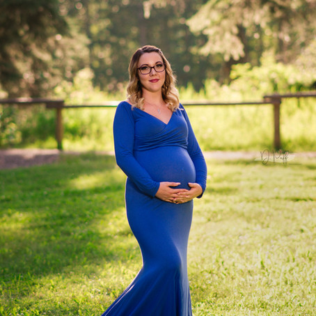 Summer Maternity: Amy & Chris
