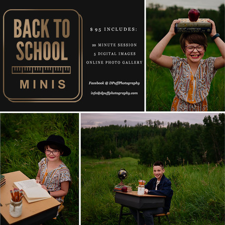 Back to School Minis!