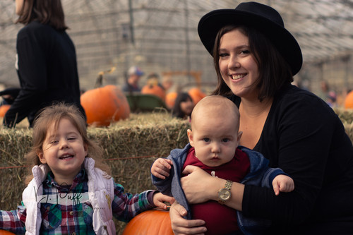 Pumpkins and babies