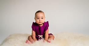 Bronwyn turns 6 months