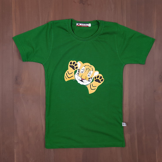 Painted Tiger Cub Kids T-shirt