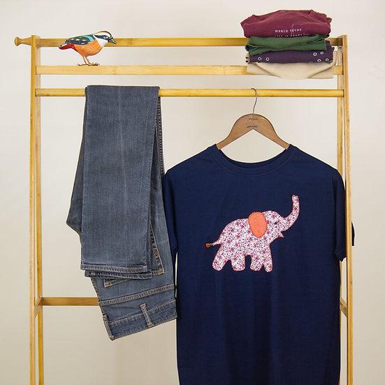 Applique T-shirt Elephant