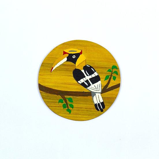 Hornbill Hand Painted Coasters - WRCS