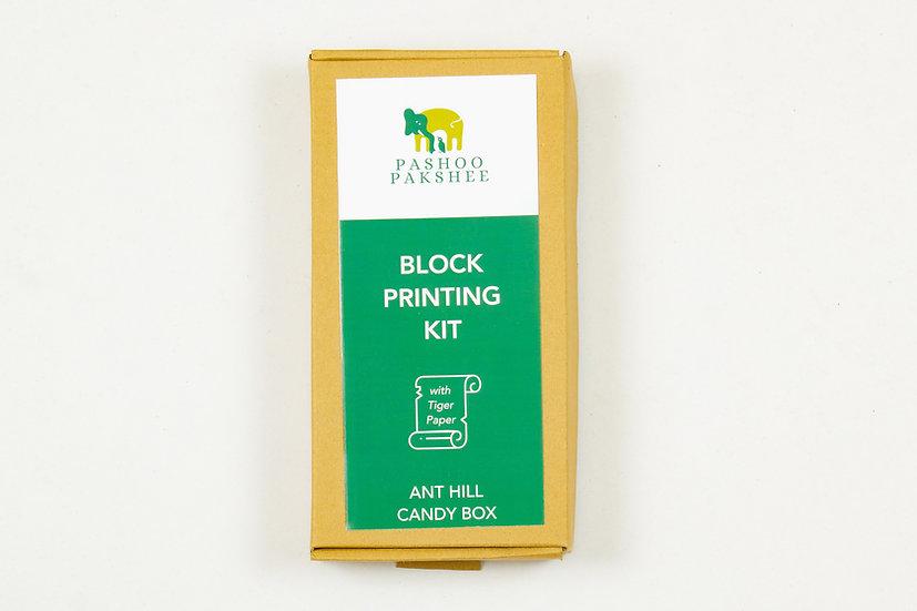 Anthill Candy Box Block Printing Kit