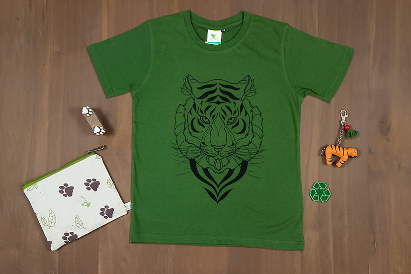 Tiger Face, Kids T-shirt