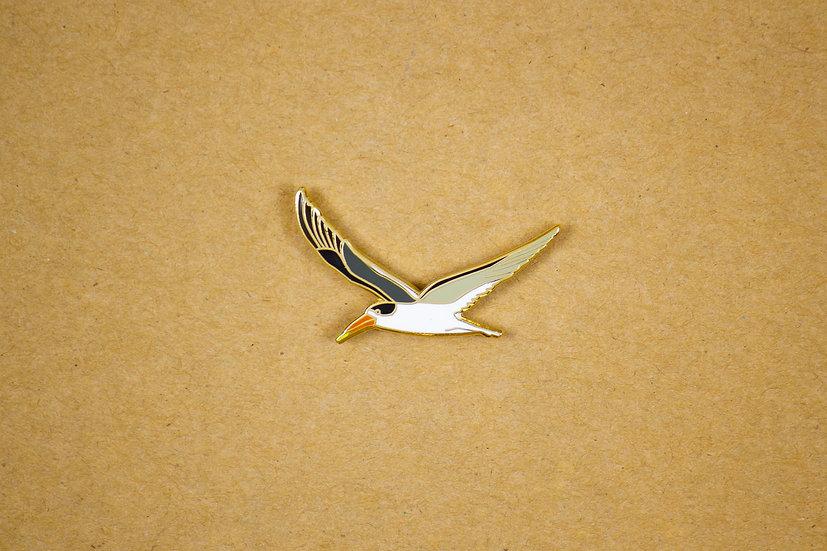 Indian Skimmer Lapel Pin