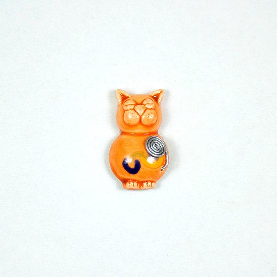 Cat Ceramic Magnet