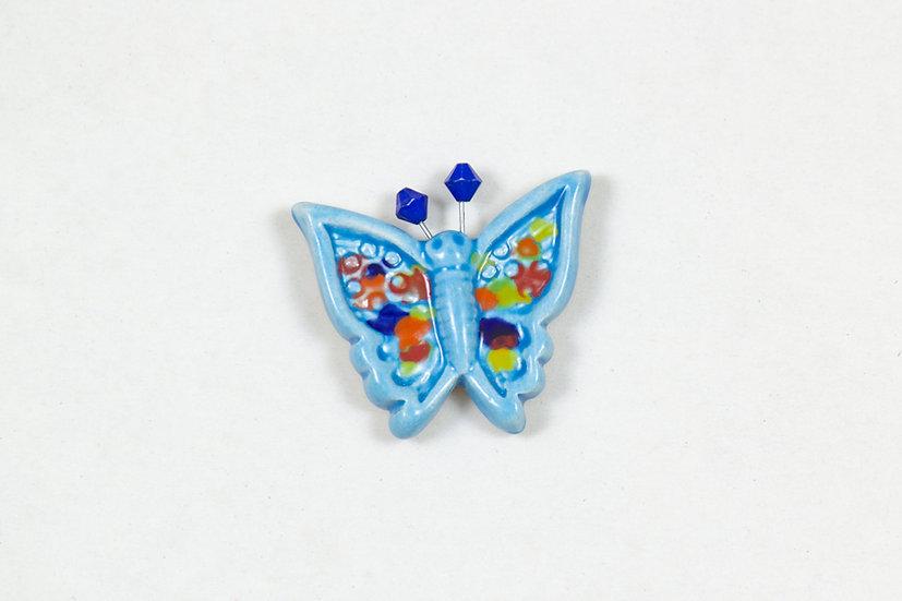 Butterfly Magnet by Kuprakabi
