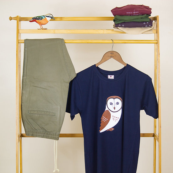 Painted Barn Owl T-shirt