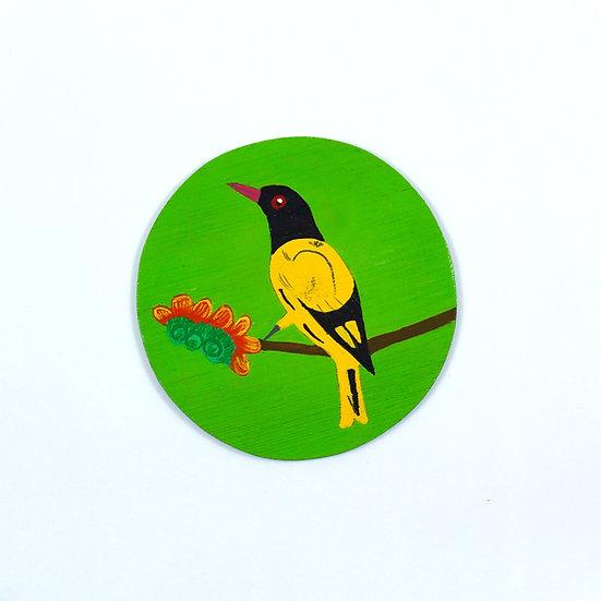 Oriole Hand Painted Coasters - WRCS