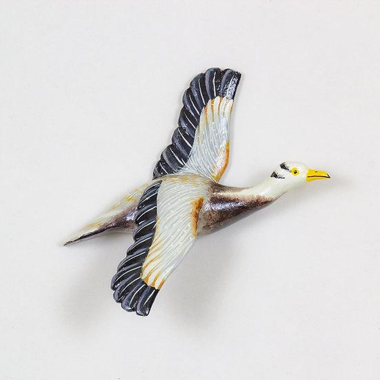 Flying Bar Headed Geese - Wall Mount Decor