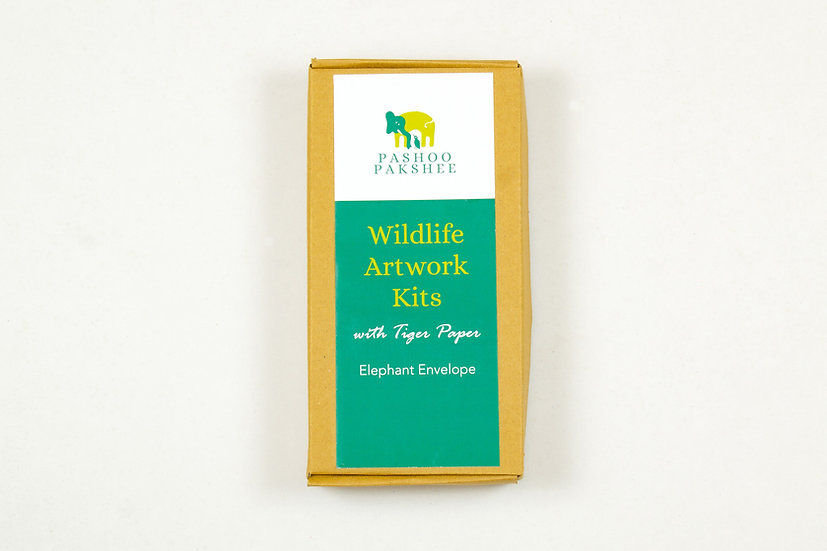 Elephant Envelope Block Printing Kit