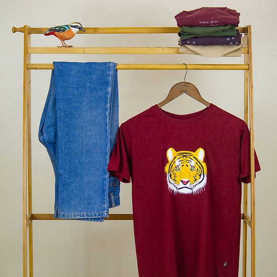 Painted Tiger Face T-shirt