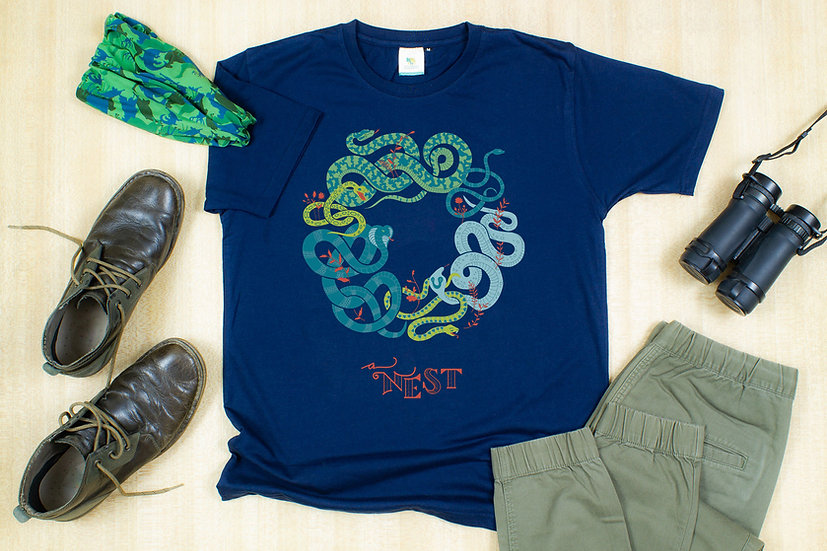 A Nest of Snakes T-shirt