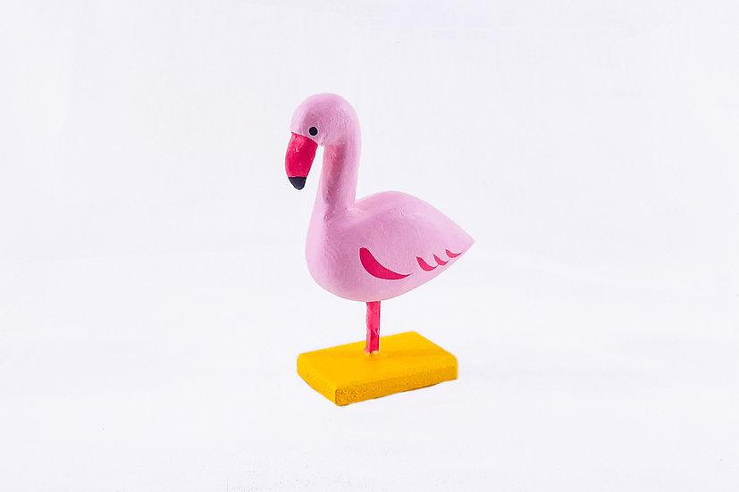Varanasi Woodcraft - Flamingo