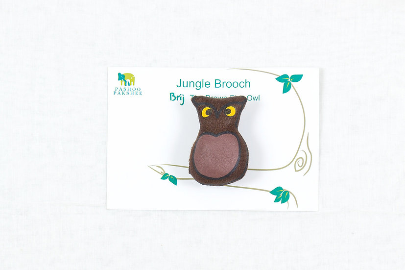 Brij, the Owl Brooch