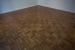 Refinished Parquet flooring