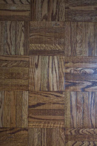 Dark Brown Parquet flooring