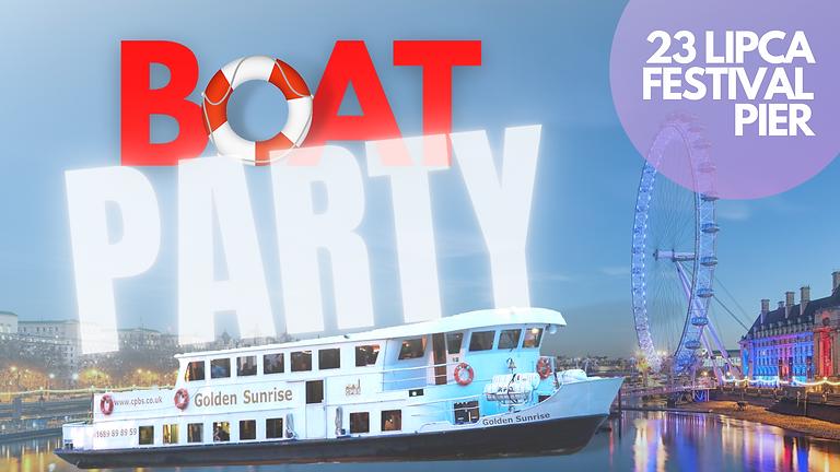 Boat Party po Tamizie!