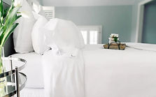 spa sheets, bedding