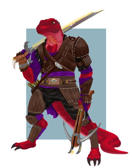 Flexis T Rexis (RPG Commission)