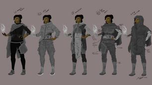 Izara Costume Exploration