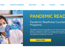 FUTURO HEALTH – PANDEMIC READINESS COURSES AND PROGRAMS