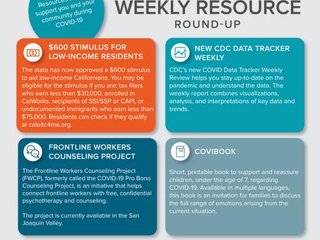 Weekly Resource Round-Up: February 19, 2021