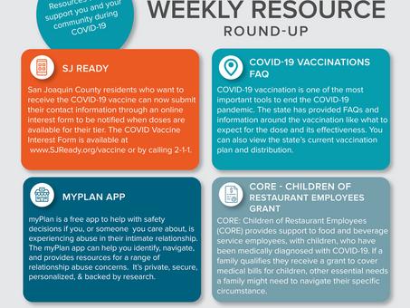 Weekly Resource Round-Up: February 12, 2021