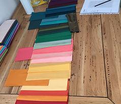 selezione personalizzata colori, i tuoi colori, i colori che indossi, analisi del colore, consulenza cromatica, consulente colore,