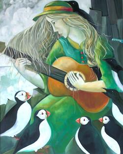 The Skellig Bird Warden