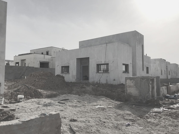 Kibbutz House. Work in progress