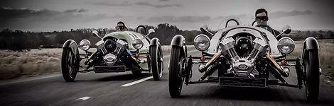 Morgan race cars