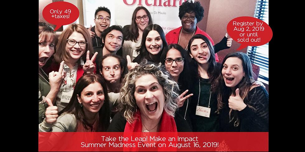 Take the Leap! Make an Impact (AUGUST 16)