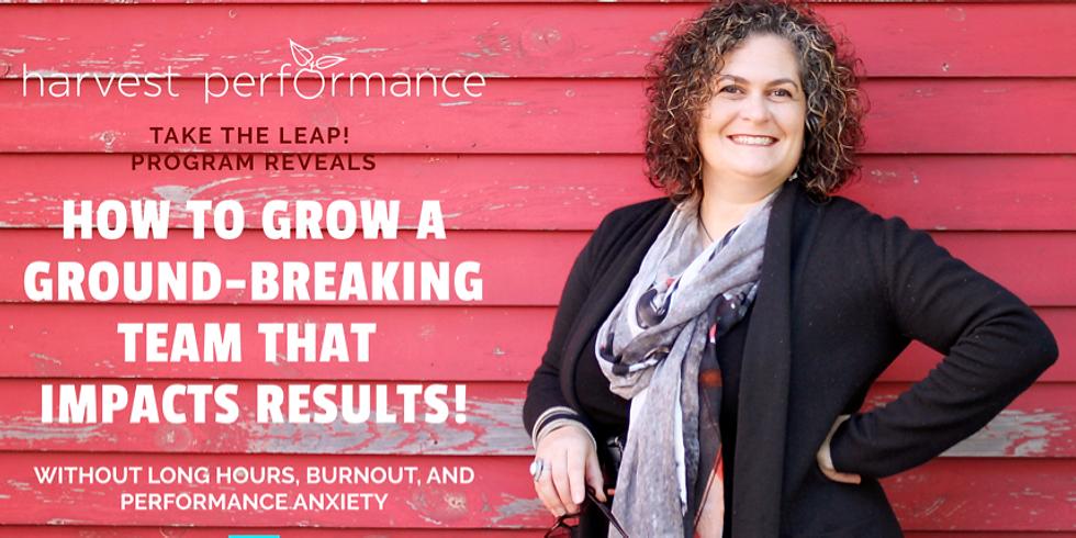 Take the Leap! Online Program March 19