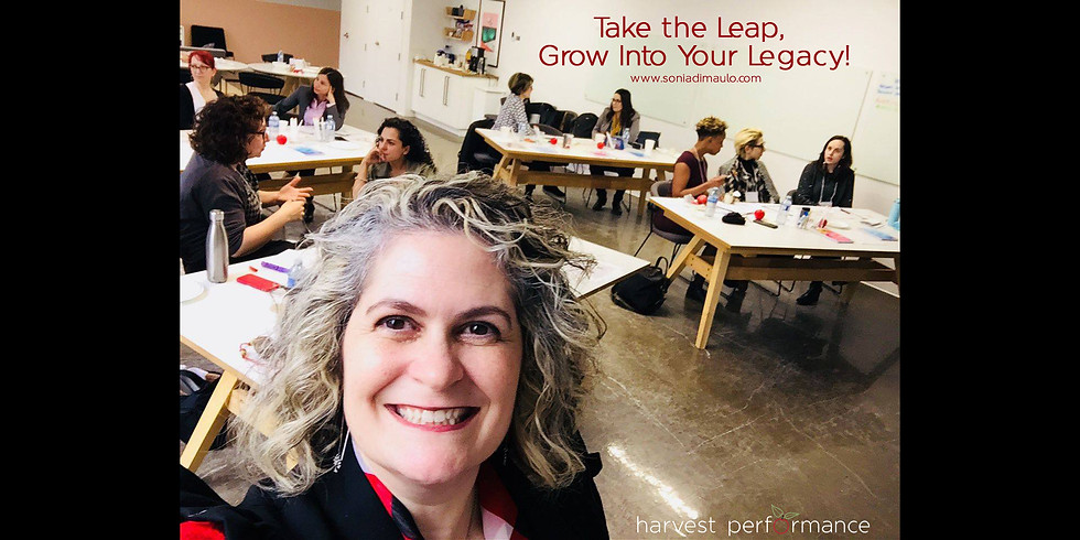Take the Leap, Grow Into Your Legacy (APRIL)