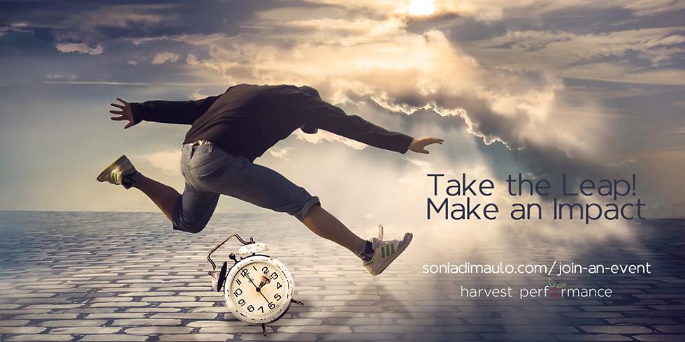 Take the Leap! Make an Impact (JUNE 15)